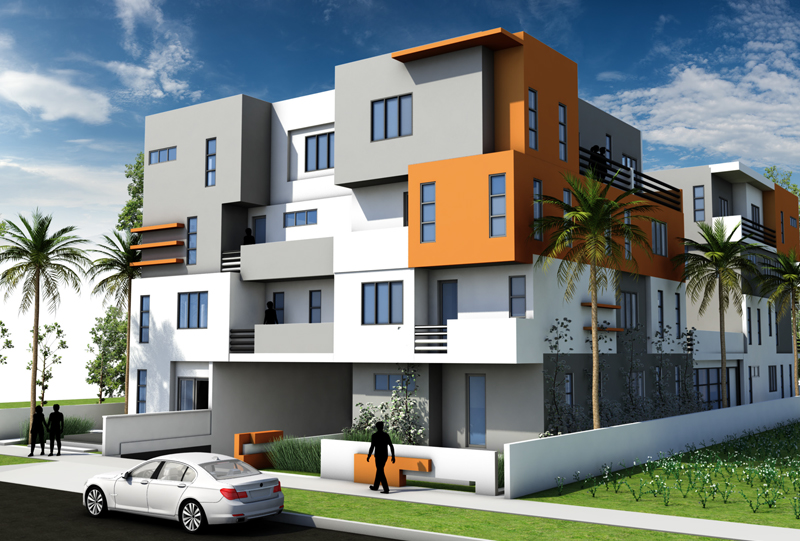 Luxury Real Estate Financing project model home