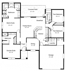 floor plans by Diditan Group