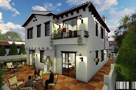 model luxury home in los angeles