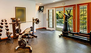 home gym garage conversions Los Angeles